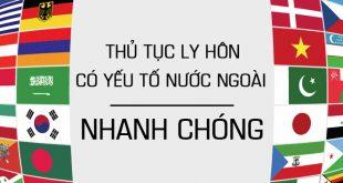 thủ tục ly hôn với người nước ngoài tại Nha Trang