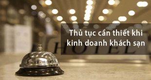 Dịch vụ cấp giấy phép khách sạn tại Nha Trang Khánh Hòa