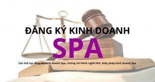 Tư vấn thủ tục đăng ký kinh doanh spa, massage, chăm sóc sắc đẹp