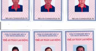 Dịch vụ cấp chứng chỉ an toàn lao động, an toàn điện tại Khánh Hoà