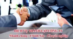 Thành lập công ty Phú Yên