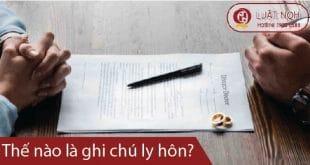 Hướng dẫn Thủ tục ghi chú ly hôn tại Khánh Hòa