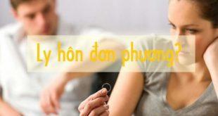 Thủ tục ly hôn đơn phương tại Nha Trang
