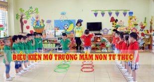 Thành lập trường mầm non tư thục tại Nha Trang